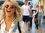 Picture Shows: Brooks Laich, Julianne Hough  April 15, 2016\n \n Dancer Julianne Hough and her fiance Brooks Laich take their family shopping at The Grove in Hollywood, California. The couple were all smiles as they were photographed holding hands.\n \n Non Exclusive\n UK RIGHTS ONLY\n \n Pictures by : FameFlynet UK © 2016\n Tel : +44 (0)20 3551 5049\n Email : info@fameflynet.uk.com