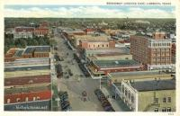 Broadway Looking East, Lubbock, Texas