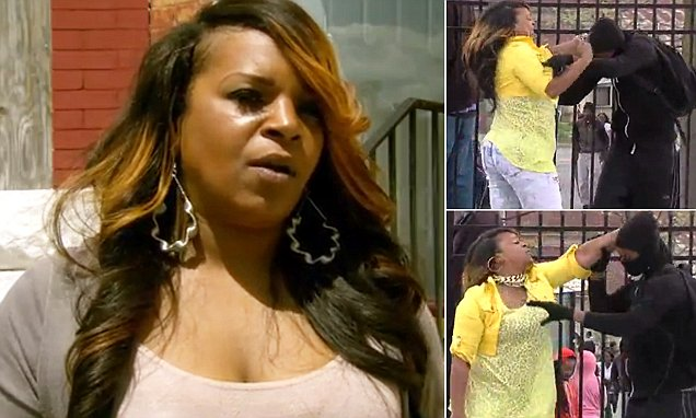 Toya Graham Baltimore mom speaks out after dragging son Michael, 16, from riot