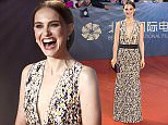 Actress and director Natalie Portman arrives at the red carpet for the 6th Beijing International Film Festival held on the outskirts of Beijing Saturday, April 16, 2016. (AP Photo/Ng Han Guan)