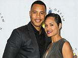 LOS ANGELES, CA - MARCH 20:  Actors Trai Byers (L) and Grace Gealey (R) attend the I Have A Dream Foundation 3rd annual Dreamer Dinner at The Skirball Cultural Center on March 20, 2016 in Los Angeles, California.  (Photo by Paul Archuleta/FilmMagic)
