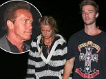 16.APR.2016 - INDIO - USA\n*** STRICTLY AVAILABLE FOR UK AND GERMANY USE ONLY ***\n** EXCLUSIVE ALL ROUND PICTURES **\nPatrick Schwarzenegger and girlfriend Abby Champion were spotted fresh out of the Guns N Roses set to the Neon Carnival. They were hand in hand as they were ready for some late night festivities. \nBYLINE MUST READ : AKM-GSI-XPOSURE\n***UK CLIENTS - PICTURES CONTAINING CHILDREN PLEASE PIXELATE FACE PRIOR TO PUBLICATION ***\n*UK CLIENTS MUST CALL PRIOR TO TV OR ONLINE USAGE PLEASE TELEPHONE 0208 344 2007*\n