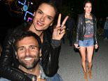 THERMAL, CA - APRIL 16:  Model Alessandra Ambrosio and Jamie Mazur attend the Levi's Brand And RE/DONE Levi's Present NEON CARNIVAL With Tequila Don Julio on April 16, 2016 in Thermal, California.  (Photo by Michael Bezjian/Getty Images for Best Events)