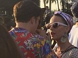 Coachella 2016 @Coachellas16  Apr 15 Katy Perry & Orlando Bloom