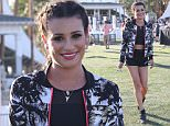 Picture Shows: Lea Michele  April 16, 2016\n \n Actress Lea Michele is looking fabulous in her Fabletics outfit by Kate Hudson while at day 2 of the first weekend of The Coachella Valley Music and Arts Festival in Indio, California. Lea made sure to wear her Fabletics outfit so she could stay comfortable while checking out the outdoor music festival.\n \n Non Exclusive\n UK RIGHTS ONLY\n \n Pictures by : FameFlynet UK © 2016\n Tel : +44 (0)20 3551 5049\n Email : info@fameflynet.uk.com