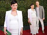WEST HOLLYWOOD, CA - APRIL 17:  Actress Ginnifer Goodwin (L) and actor Josh Dallas attend the John Varvatos 13th Annual Stuart House benefit presented by Chrysler with Kids' Tent by Hasbro Studios at John Varvatos on April 17, 2016 in Los Angeles, California.  (Photo by John Sciulli/Getty Images for John Varvatos)