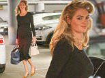 16.APR.2016 - LOS ANGELES - USA\n*** STRICTLY AVAILABLE FOR UK AND GERMANY USE ONLY ***\n** EXCLUSIVE ALL ROUND PICTURES **\nKate Upton arrives at a photoshoot in Downtown Los Angeles in a black midi dress and sling back heels. The model looks like she just got out of hair and heads to makeup. \nBYLINE MUST READ : AKM-GSI-XPOSURE\n***UK CLIENTS - PICTURES CONTAINING CHILDREN PLEASE PIXELATE FACE PRIOR TO PUBLICATION ***\n*UK CLIENTS MUST CALL PRIOR TO TV OR ONLINE USAGE PLEASE TELEPHONE 0208 344 2007*\n