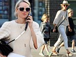 Mandatory Credit: Photo by Zelig Shaul/ACE Pictures/REX/Shutterstock (5648331b)..Naomi Watts, Sam, Sasha..Naomi Watts out and about, New York, America - 18 Apr 2016..