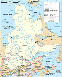 Quebec province transportation and cities map-fr.jpg