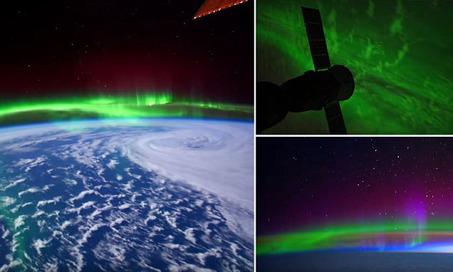 NASA timelapse video shows northern lights appear from space