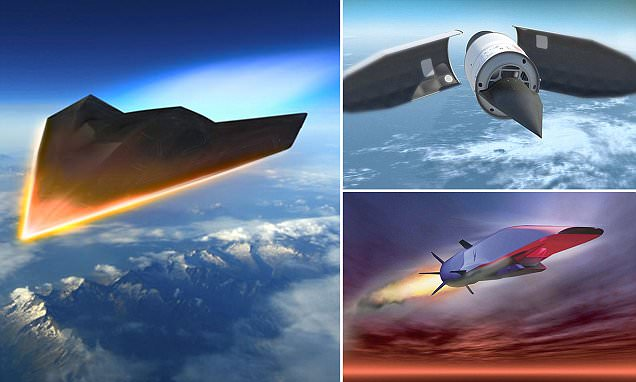 US 'hypersonic missiles' should be banned over fears they could be nuclear weapons