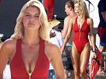 """19 April 2016 - Tybee, GA  - USA\n**STRICTLY AVAILABLE FOR UK AND GERMANY USE ONLY**\nKelly Rohrbach shows off her amazing figure on the beach on Tybee Island while on the set of """"Baywatch""""\nBYLINE MUST READ : AKM-GSI-XPOSURE\n***UK CLIENTS - PICTURES CONTAINING CHILDREN PLEASE PIXELATE FACE PRIOR TO PUBLICATION ***\n*UK CLIENTS MUST CALL PRIOR TO TV OR ONLINE USAGE PLEASE TELEPHONE 0208 344 2007*\n"""