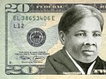 """(FILES) This file photo taken on April 29, 2015 shows an image provided by the """"Women On 20's"""" organization festuring abolitionist Harriet Tubman on the US twenty dollar bill.   Celebrated former US slave Harriet Tubman will replace President Andrew Jackson on the $20 banknote, the first time an African-American has been featured on US money, a Treasury official said April 20, 2016. The decision came after the Treasury came under pressure to put a woman on a different banknote soon to be revised, the $10 bill that features the first Treasury secretary Alexander Hamilton.  / AFP PHOTO / Women On 20's / Handout / RESTRICTED TO EDITORIAL USE - MANDATORY CREDIT """"AFP PHOTO / """"WOMEN ON 20'S"""" - NO MARKETING NO ADVERTISING CAMPAIGNS - DISTRIBUTED AS A SERVICE TO CLIENTS HANDOUT/AFP/Getty Images"""