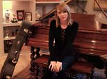 Taylor Swift gives tour of her home