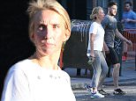 Mandatory Credit: Photo by Startraks Photo/REX/Shutterstock (5658394i) Aaron Taylor-Johnson and Sam Taylor-Johnson Aaron Taylor-Johnson and Sam Taylor-Johnson out and about, New York, America - 20 Apr 2016 Aaron Taylor-Johnson and Sam Taylor-Johnson Out For a Run on the West Side