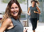 19.April.2016 - New York - USA\n*** STRICTLY AVAILABLE FOR UK AND GERMANY USE ONLY ***\nNew York, NY - Kelly Bensimon is working up a sweat as she goes for a Run through the East Village in New York City.\nBYLINE MUST READ : AKM-GSI-XPOSURE\n***UK CLIENTS - PICTURES CONTAINING CHILDREN PLEASE PIXELATE FACE PRIOR TO PUBLICATION ***\n*UK CLIENTS MUST CALL PRIOR TO TV OR ONLINE USAGE PLEASE TELEPHONE 0208 344 2007*\n