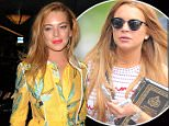 Celebrities attend LFW s/s 2016: Wonderland Magazine party at Drama club where Brooklyn Beckham was turned down. London. UK Featuring: Lindsay Lohan Where: London, United Kingdom When: 23 Sep 2015 Credit: WENN.com