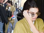 Kendall Jenner leaves her hotel and goes to Chanel store in Paris.\n4/20/2016\n\nPictured: Kendall Jenner\nRef: SPL1267123  200416  \nPicture by: KCS Presse / Splash News\n\nSplash News and Pictures\nLos Angeles: 310-821-2666\nNew York: 212-619-2666\nLondon: 870-934-2666\nphotodesk@splashnews.com\n