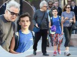 Harvey Keitel with son Roman and wife Daphna Kastner out for a walk downtown in NYC.\n\nRef: SPL1267120  190416  \nPicture by: Splash News\n\nSplash News and Pictures\nLos Angeles: 310-821-2666\nNew York: 212-619-2666\nLondon: 870-934-2666\nphotodesk@splashnews.com\n