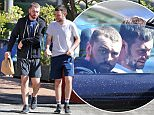 EXCLUSIVE: Sam Smith stocks up at the famous Laurel Canyon Country store in LA's most musical neighborhood. Sam and his male friend looked like they were ready to work-out as they stepped out in gym clothes in the Los Angeles heat.  Pictured: Sam Smith Ref: SPL1261776  190416   EXCLUSIVE Picture by: Splash News  Splash News and Pictures Los Angeles: 310-821-2666 New York: 212-619-2666 London: 870-934-2666 photodesk@splashnews.com