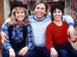 Editorial Use Only / No Merchandising\nMandatory Credit: Photo by FremantleMedia Ltd/REX/Shutterstock (854604mg)\n'Three's Company'  - Suzanne Somers as Chrissy Snow, John Ritter as Jack Tripper, Joyce DeWitt as Janet Wood\nThames TV Archive\n\n