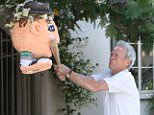 Clint Eastwood makes a surprise appearance on ?The Ellen DeGeneres Show? on Thursday, April 21st when Ellen hangs a piñata with her face outside his office.   Clint takes a bat and starts to smash it with some funny words for Ellen!   Clint Eastwood Takes a Swing at Ellen http://ellentube.com/videos/0-y64i1vv2/  Photo Links: Photo Credit: Michael Rozman / Warner Bros.  https://www.dropbox.com/sh/xdi3nk0vsww7ppv/AAAKE-LK8tdhUC6OikWl5yt0a?dl=0   ?  Erin Kyle Publicist  ?The Ellen DeGeneres Show? 4000 Warner Blvd. Bldg. 19 Burbank, CA 91522 Erin.Kyle@ellentv.com 818-954-5574