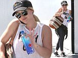 Pictured: Hilary Duff Mandatory Credit © DRILA/Broadimage Hilary Duff hits the gym in West Hollywood  4/20/16, West Hollywood, California, United States of America  Broadimage Newswire Los Angeles 1+  (310) 301-1027 New York      1+  (646) 827-9134 sales@broadimage.com http://www.broadimage.com