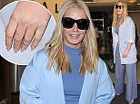 Iggy Azalea is seen at LAX in Los Angeles, California.  Pictured: Iggy Azalea Ref: SPL1268729  210416   Picture by: GVK/Bauergriffin.com