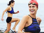 20.April.2016 - Tybee ñ USA\n***EXCLUSIVE ALL ROUND PICTURES***\n*** STRICTLY AVAILABLE FOR UK AND GERMANY USE ONLY ***\nTybee, GA - Alexandra Daddario looked fit and toned on the set of upcoming remake film Baywatch. The actress looked sexy and powerful in a pair of short shorts and work out top as she sprinted her way through an obstacle course against a possible rival. She poured her all into the scene and beat her opponent by a small margin right at the end. Daddario is set to play Summer Quinn in the film.\nBYLINE MUST READ : AKM-GSI-XPOSURE\n***UK CLIENTS - PICTURES CONTAINING CHILDREN PLEASE PIXELATE FACE PRIOR TO PUBLICATION ***\n*UK CLIENTS MUST CALL PRIOR TO TV OR ONLINE USAGE PLEASE TELEPHONE 0208 344 2007*\n