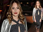 LONDON, ENGLAND - APRIL 21: Rosie Fortescue attends the launch of Ciao, an event based dating app that is bringing romance back to dating. Find your date by filtering the type of date, location, day of the week and budget at Sketch on April 21, 2016 in London, England.  \nPic credit: Dave Benett\n