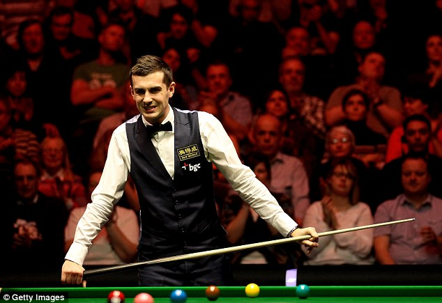 Debut: Shane Castle will play world No. 2 Mark Selby in the first round of the UK Championship