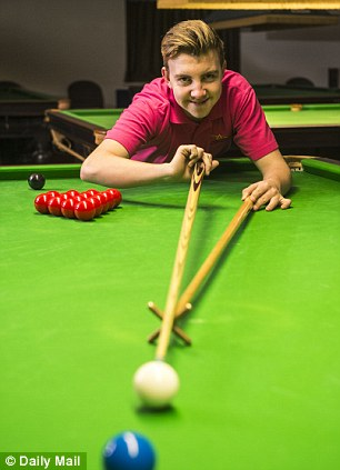 Mail Sport - Snooker player, Shane Castle