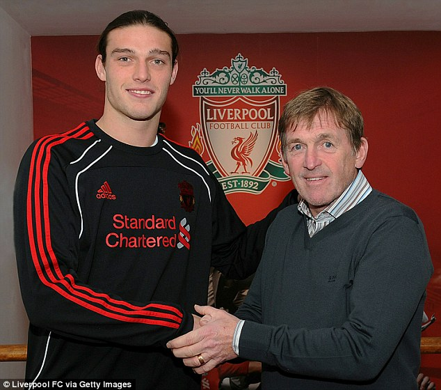 Big loss: Andy Carroll is unveiled at Liverpool after sealing his £35m exit from Newcastle