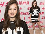 FORT WORTH, TX - APRIL 20:  Hailee Steinfeld poses for a photo as the opening of H&M at Sundance Square on April 20, 2016 in Fort Worth, Texas.  (Photo by Cooper Neill/Getty Images for H&M)