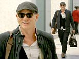 *EXCLUSIVE*New York, NY - Daniel Craig looks to be in good spirits as he lands at JFK Airport with a big smile. AKM-GSI          April 21, 2016 To License These Photos, Please Contact : Steve Ginsburg (310) 505-8447 (323) 423-9397 steve@akmgsi.com sales@akmgsi.com or Maria Buda (917) 242-1505 mbuda@akmgsi.com ginsburgspalyinc@gmail.com