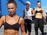 """eURN: AD*203669192  Headline: Karina Smirnoff shows off her physique after practice with Doug Flutie Caption: Hollywood, CA - Karina Smirnoff shows off her abs wearing a crop top and harem pants after practice with her partner Doug Flutie. The two have been hard at work rehearsing for Season 22 of """"Dancing With The Stars."""" AKM-GSI      April 20, 2016 To License These Photos, Please Contact : Steve Ginsburg (310) 505-8447 (323) 423-9397 steve@akmgsi.com sales@akmgsi.com or Maria Buda (917) 242-1505 mbuda@akmgsi.com ginsburgspalyinc@gmail.com Photographer: PHAM  Loaded on 21/04/2016 at 04:31 Copyright:  Provider: Phamous/AKM-GSI  Properties: RGB JPEG Image (47997K 2617K 18.3:1) 3305w x 4957h at 72 x 72 dpi  Routing: DM News : GeneralFeed (Miscellaneous) DM Showbiz : SHOWBIZ (Miscellaneous) DM Online : Online Previews (Miscellaneous), CMS Out (Miscellaneous)  Parking:"""