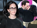 Los Angeles, CA - Courteney Cox arrives solo to Los Angeles International Airport after showing PDA with ex-fianc» Johnny McDaid in London last week. The 51-year-old actress is wearing skinny jeans and a black sweater paired with black flats. Courteney looks happy as she walks through the terminal with a smile on her face.  AKM-GSI         April 20, 2016 To License These Photos, Please Contact : Steve Ginsburg (310) 505-8447 (323) 423-9397 steve@akmgsi.com sales@akmgsi.com or Maria Buda (917) 242-1505 mbuda@akmgsi.com ginsburgspalyinc@gmail.com