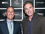 BEVERLY HILLS, CA - APRIL 20:  Host Jerry Seinfeld and actor Michael Richards attend the 2nd annual Los Angeles Fatherhood Lunch to benefit GOOD+FOUNDATION at The Palm Restaurant on April 20, 2016 in Beverly Hills, California.  (Photo by Rich Polk/Getty Images for GOOD+ Foundation)