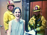 Isabelle FuhrmanVerified account ?@isabellefuhrman When the fire department has to save you from your elevator... thank you #LAFD