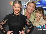 """Steve Irwin, Terri Irwin & daughter during """"The Crocodile Hunter: Collision Course"""" Premiere at Arclight Cinerama Dome in Hollywood, California, United States. (Photo by SGranitz/WireImage)"""