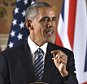 LONDON, ENGLAND - APRIL 22:  US President Barack Obama speaks during a press conference with British Prime Minister David Cameron at the Foreign and Commonwealth Office on April 22, 2016 in London, England.  The President and his wife are currently on a brief visit to the UK where they will have lunch with HM Queen Elizabeth II at Windsor Castle and dinner with Prince William and his wife Catherine, Duchess of Cambridge at Kensington Palace. Mr Obama visitited 10 Downing Street on this Friday afternoon and held a joint press conference with British Prime Minister David Cameron where he stated his case for the UK to remain inside the European Union.  (Photo by Ben Stanstall - WPA Pool/Getty Images)