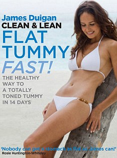James Duigan's Clean & Lean Flat Tummy Fast book