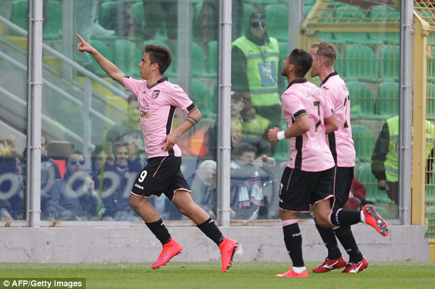 Dybala now has 13 Serie A goals for the season and has been linked with several European clubs