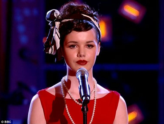 Sophie May looked, and sang, like a true star as she swooned through Moon River