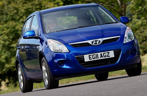 Got the blues: Blue cars still languish below market average values, continuing to earn the trade's disdain with popular label of 'doom blue'
