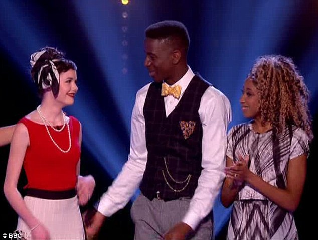 Team will (L-R) Sophie May, Jermain and singing powerhouse Iesher