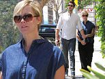 Picture Shows: David Abrams, Jennie Garth  April 22, 2016\n \n Couple Jennie Garth and David Abrams stop by Marshall's before enjoying lunch together in Los Angeles, California. Jennie was feeling shy and hid behind her husband David. \n \n Non Exclusive\n UK RIGHTS ONLY\n \n Pictures by : FameFlynet UK © 2016\n Tel : +44 (0)20 3551 5049\n Email : info@fameflynet.uk.com