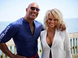 """therockShe introduced the world to """"CJ Parker"""" and became one of the most iconic characters of a generation - for the most successful TV show of all time.  A pleasure to welcome (as gorgeous as ever) Pamela Anderson to our #BAYWATCH cast.  We couldn't have made this movie without you.  Welcome home. Thrilled you had a blast with us!  #BAYWATCH MAY 19, 2017. #PamAnderson #OS #OriginalSmokestack"""