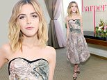 WEST HOLLYWOOD, CA - APRIL 22:  Kiernan Shipka attends harper x Harper's BAZAAR May Issue Event Hosted By Hailee Steinfeld And Laura Brown at Sunset Tower Hotel on April 22, 2016 in West Hollywood, California.  (Photo by Stefanie Keenan/Getty Images for Harper's Bazaar)