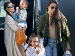 *EXCLUSIVE* Van Nuys, CA - Kim Kardashian jets out of the Van Nuys Airport with North West. Kim is seen in another nude body suit and trench coat and North rocks a silk bomber jacket.\n  \nAKM-GSI       April 22, 2016\nTo License These Photos, Please Contact :\nSteve Ginsburg\n(310) 505-8447\n(323) 423-9397\nsteve@akmgsi.com\nsales@akmgsi.com\nor\nMaria Buda\n(917) 242-1505\nmbuda@akmgsi.com\nginsburgspalyinc@gmail.com